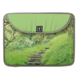 Woodland Path So Green Sleeve For MacBooks