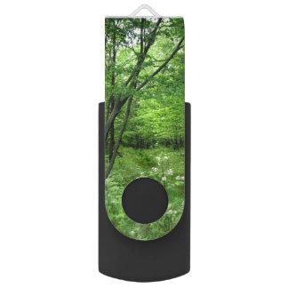 Woodland Path Swivel USB 2.0 Flash Drive