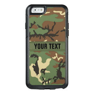 Woodland Pattern Retro Camo OtterBox iPhone 6/6s Case