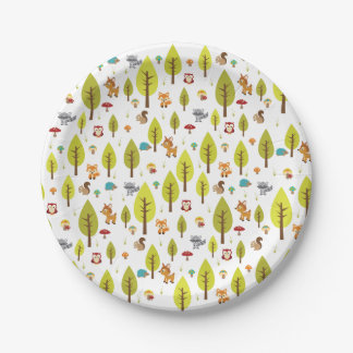 Woodland Plates