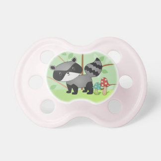 Woodland Raccoon Baby Pacifier