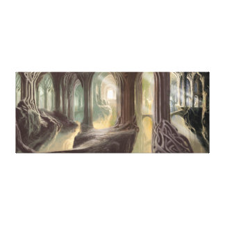 Woodland Realm Concept 2 Canvas Print