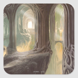 Woodland Realm Concept 2 Square Sticker