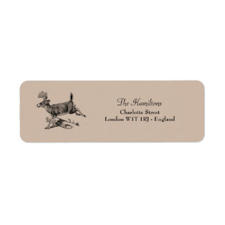 Woodland | Rustic Deer Return Address Label