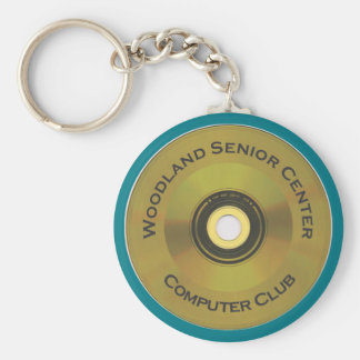 Woodland Senior Center Computer Club Key Ring