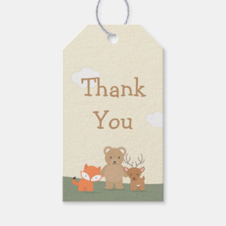 """Woodland """"Thank You"""" Gift Tags"""