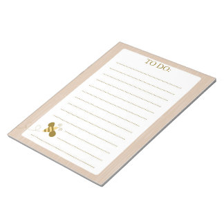 Woodland To Do List Notepad