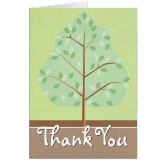 Woodland Tree Greeting Card