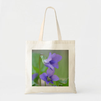 Woodland Violet Tote Bag