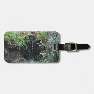 Woodland Waterfall Luggage Tag
