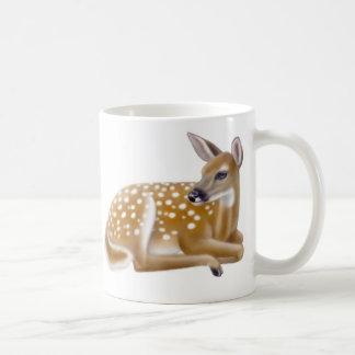 Woodland White Tailed Deer Fawn Mug