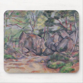 Woodland with Boulders, 1893 Mouse Mat