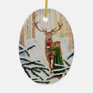 Woodland Wonder Spied Ornament