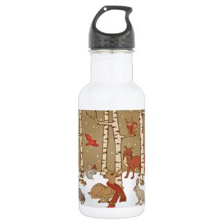 Woodlands Christmas 532 Ml Water Bottle