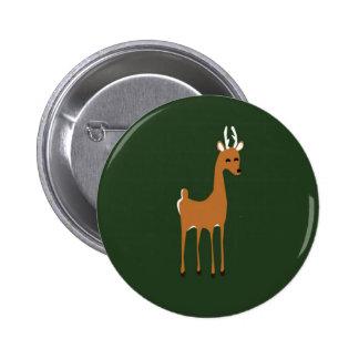Woodlands deer pin