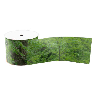 Woodlands Grosgrain Ribbon