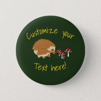 Woodlands Hedgehog Forest button