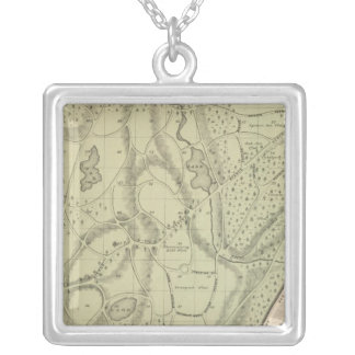 Woodlawn Cemetery Silver Plated Necklace