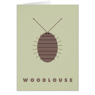 Woodlouse Card