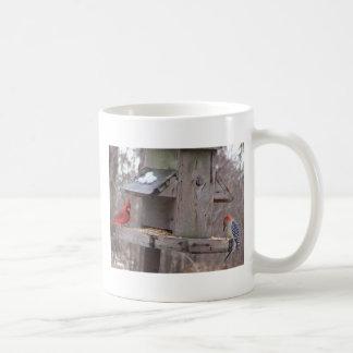 Woodpecker&Male Cardinal Coffee Mug