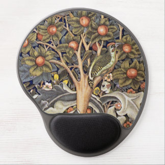 Woodpecker Tapestry by William Morris Gel Mouse Mat