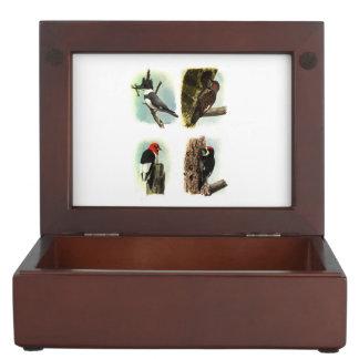 Woodpeckers Keepsake Box
