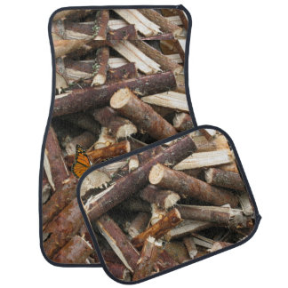 Woodpile Car Mat