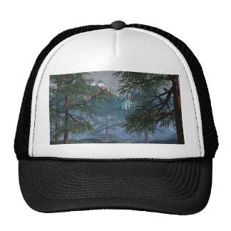 Woods and River scene Trucker Hat