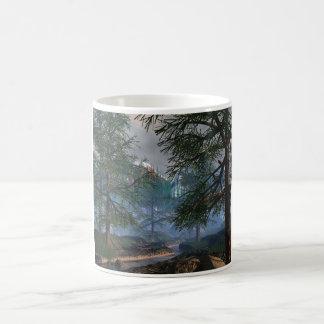 Woods and River scene Mugs