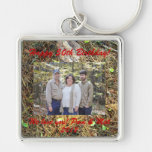 Woods Floor Family Design Key Chain Personalise