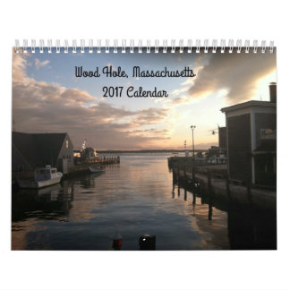 Woods Hole Cape Cod 2017 Photo Calendar