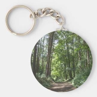 Woods Keychain