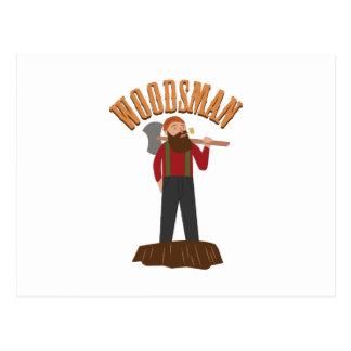 Woodsman Postcard