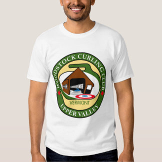 Woodstock Curling Club Men's White T-shirt