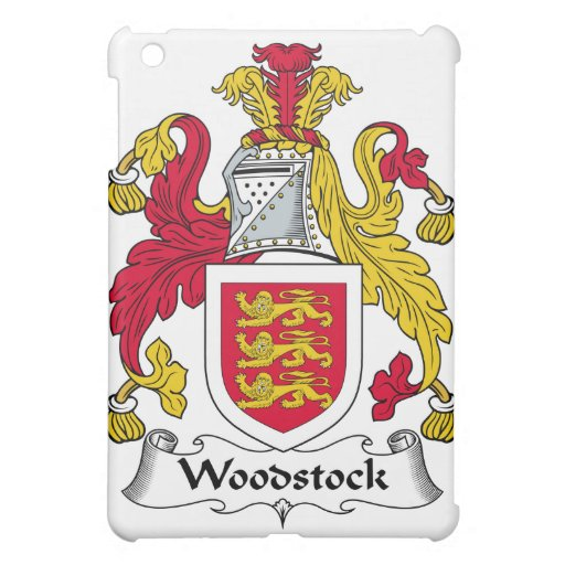 Woodstock Family Crest Cover For The iPad Mini