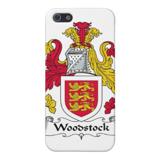 Woodstock Family Crest iPhone 5 Case