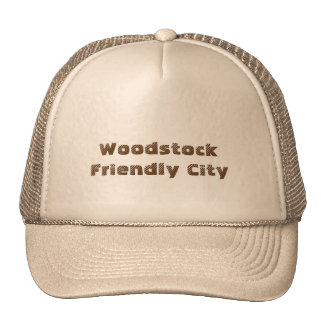 Woodstock Friendly City ball cap