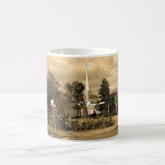 Woodstock, New York Basic White Mug