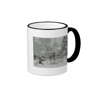 Woodstock Town Square Ringer Mug