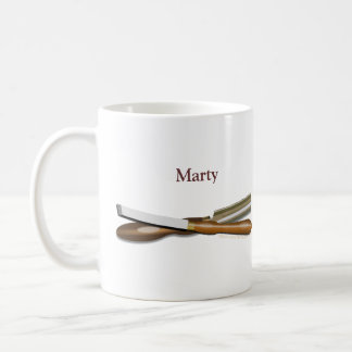 Woodturning Tools Personalized Gift Mug
