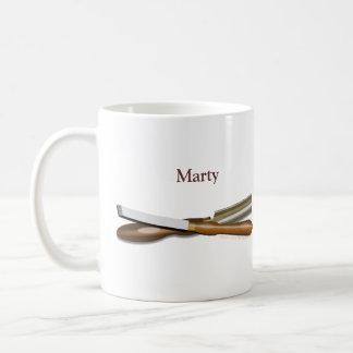 Woodturning Tools Personalized Gift Mug