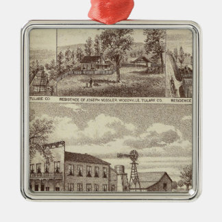 Woodville Hotel, ranches Christmas Ornament