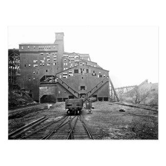Woodward Coal Breaker Kingston Pa. Postcard