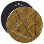 Woodwind Family on Basket Weave Look Button