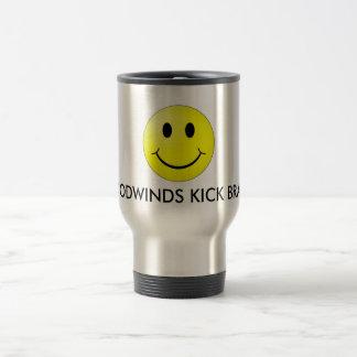Woodwinds Kick Brass Travel Mug