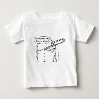 Woodwinds Rule, Brasses Drool T Shirt