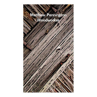 Woodworker Business Card Template