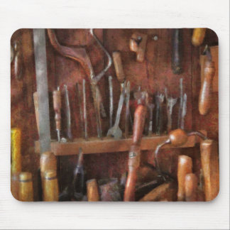 Woodworker - Old tools Mouse Mat
