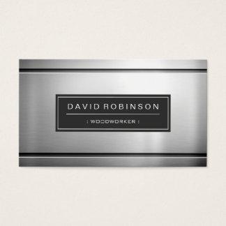 Woodworker - Premium Silver Metal