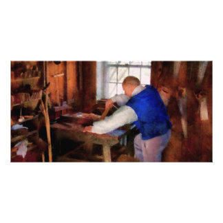 Woodworker - The master carpenter Photo Greeting Card